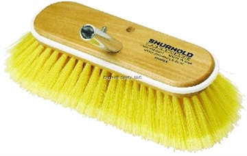 """Picture of Shurhold 10"""" Soft Yellow Deck Brush"""