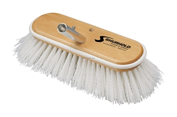 "Picture of Shurhold 10"" Stiff White Deck Brush"