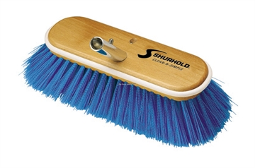 """Picture of Shurhold 10"""" X-Soft Blue Deck Brush"""
