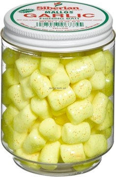 Picture of Siberian Mallows Glitter Yellow/Garlic 1.5Oz Jar