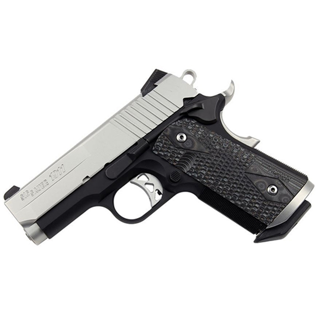 Sig Sauer 1911 Ultra Compact 45Acp NS Extreme Blk Gry