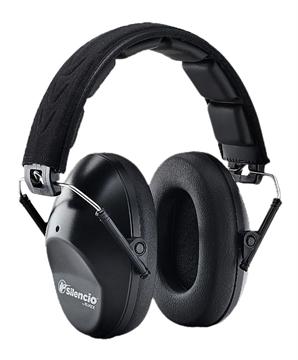 Picture of Silencio Hb10slimsil Sonic Slim Earmuff 21 DB Black