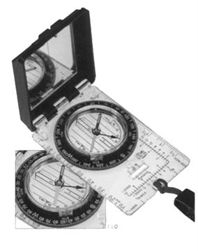 Picture of Silva 2800515 Ranger Compass Compass Black/Clear
