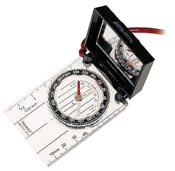Picture of Silva 2801085 Trekker Compass Black/Clear