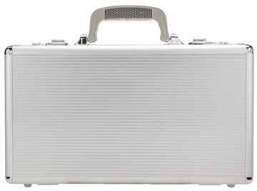 Picture of Silver Bulllet Al20  4-6 Pistol Case 2 Comb Lck 16X9x4 Abs Plastic Silver