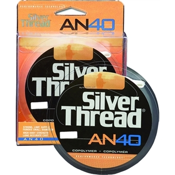 Picture of Silver Thread An40 Monofilament Bulk 10Lb 3000Yds Silver