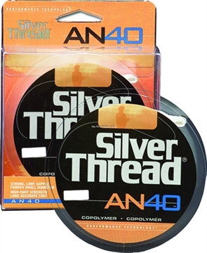 Picture of Silver Thread An40 Monofilament Bulk 14Lb 3000Yds Silver