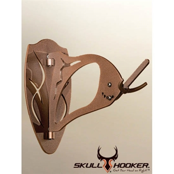 Picture of Skull Hooker Big Hooker Skull Mounting Bracket, Large TO Extra Large Trophies, Brown