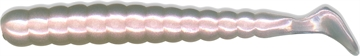 """Picture of Slider Bass/Walleye Grub  3"""" Pearl White  13/Pack"""