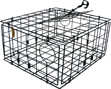Picture of Smi Crab Trap Rect Collapsible VC 4-Gate 24X21x12