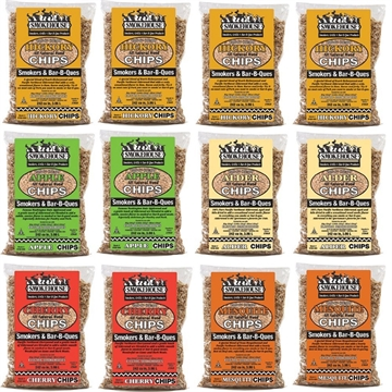 Picture of Smokehouse Assorted Wood Flavored Chips 12 Pack Assortment