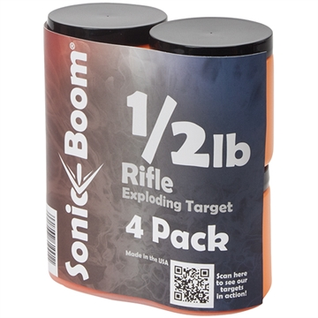 Picture of Sonic Boom Boom 1/2Lb Exploding Target 4 Pack