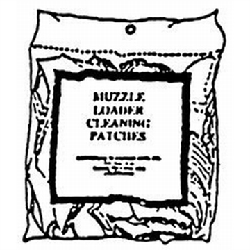 """Picture of Southern Bloomer 2"""" Diameter Cleaning Patch 300-Pack"""