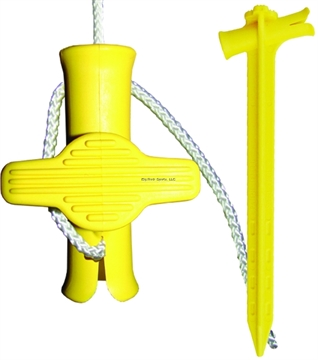 Picture of Speed Cinch Speed Cinch Scsyw-2 Speed Cinch Stake 2Pc Yellow
