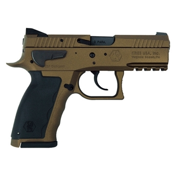 "Picture of Sphinx Sdp Compact Alpha 9Mm 3.75"" Burnt Bronze 15Rd"