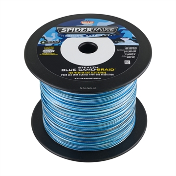 Picture of Spiderwire 15Lb Stealth Braided Line Blue Camo 1500Yds Blue Camo