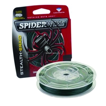 Picture of Spiderwire 20Lb Stealth Braided Line 200Yd Filler Spool Moss Green