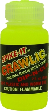 Picture of Spike-It 2Oz Dip-N-Glo Soft Plastic Lure Dye Cht Crawlic Scent