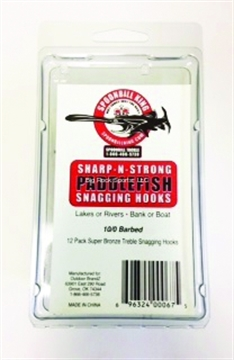 Picture of Spoonbill King Snagging Hook, Size 10/0, Treble, 12 Per Pack