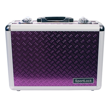 Picture of Sportlock Alumalock Case Double Handgun Purple
