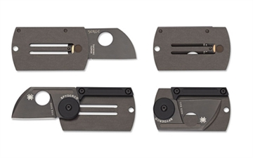 Picture of Spyderco   Dog Tag Folder Titanium Blk