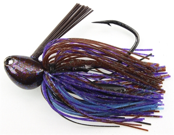 Picture of Stanley 1  Oz. Big Nasty Jig, (Frosted), Hand Tied