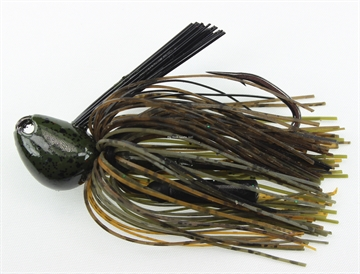 Picture of Stanley 1  Oz. Big Nasty Jig, Green Pumpkin Passion, Hand Tied