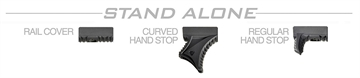Picture of Strike  AR Link Hand Stop Kit Polymer Black