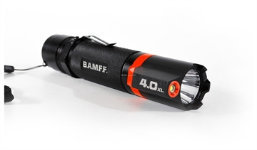 Picture of Striker Concepts Bamff 4.0Xl Tactical Flashlight, Large Reflector, 6 Light Settings, 400 Lumens
