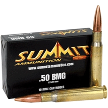 Picture of Summit .50 Bmg 649 Gr. M-33 Ball 10 Rds