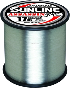 Picture of Sunline Assassin FC Fluorocarbon Line 12 LB Clear - 660Yd
