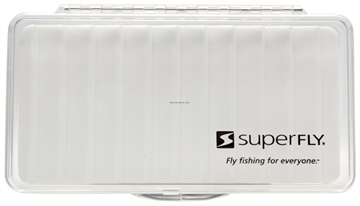 Picture of Superfly Fly Box Clear Ripple Large
