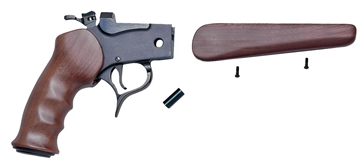 Picture of T/C Arms 08028700 G2 Contender Pistol Frame Assembly Contender Blued Steel Satin Walnut