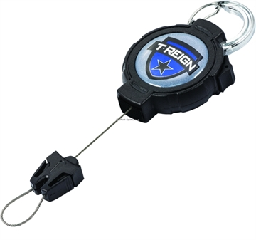 Picture of T-Reign Fishing Gear Retractor W/Carabiner Large