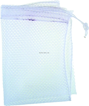 "Picture of Tackle Factory Net Bag 15X20 White 1/4"" Mesh"