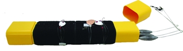 Picture of Tackle Tamer Bottom Bouncer Caddy Black & Yellow