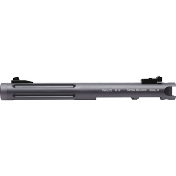 "Picture of Tactical Solutions Barrel Pac-Lite 6"" Ruger Mk1-3 Gray/Gray Flutes"