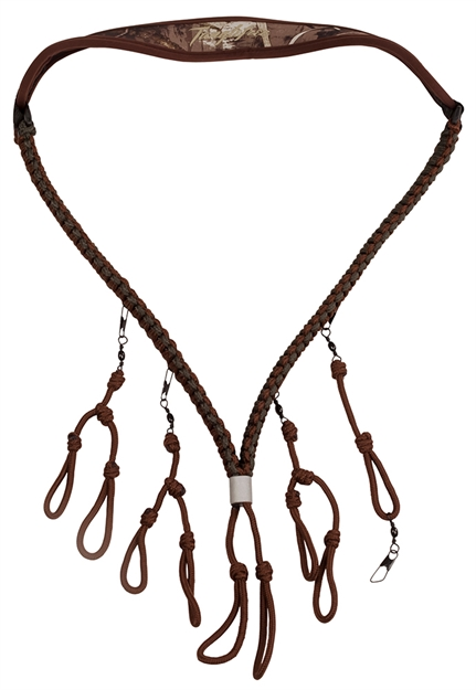 Picture of Tanglefree Ac228mx5 Call Lanyard Pro Series With 8-Drops And Whistle Drop Max-5