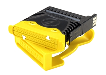 Picture of Taser 22149 X2  Cartridge Polymer Black/Yellow 2 Pack