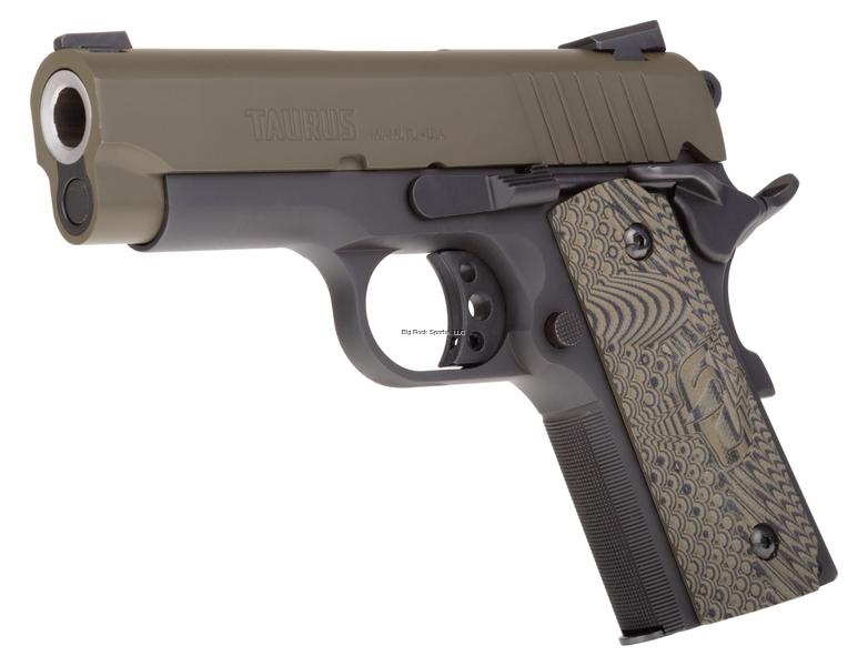 Taurus 1911 Officer Semi-Auto Pistol, 45 Ac 1-1911ofmg-Vz  45 ACP