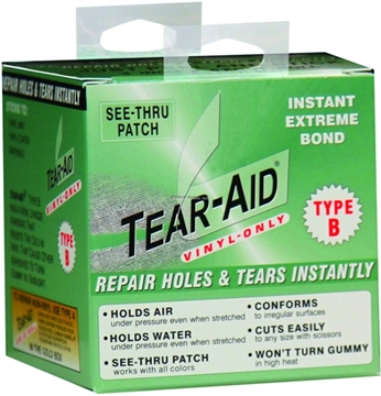 "Picture of Tear-Aid Type B Vinyl 3""X5' Roll"