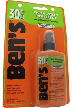 Picture of Ben's   30 Insect Repellent 30% Deet 3.4Oz Pump (Carded)