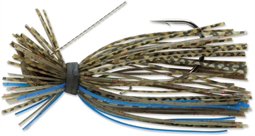 Picture of Terminator Lures Finesse Jig, Sinking, 3/16 Oz, Blue Olive