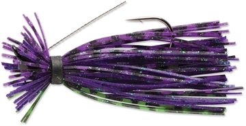 Picture of Terminator Lures Finesse Jig, Sinking, 3/16 Oz, Jun Bug
