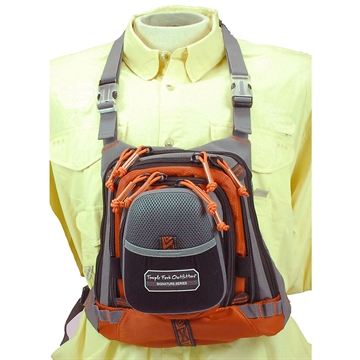 """Picture of Tfo Med Size Chest Pack W/ Front Drop Pocket 13"""" X 1"""" 1"""""""