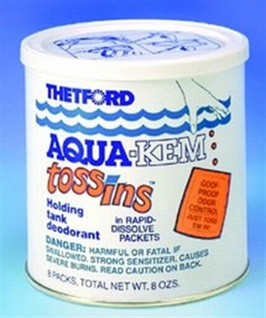 Picture of Thetford Aqua Kem Tos Ins 10/Pouch
