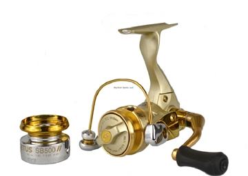 Picture of Tica Cetus-Sb Spinning Reel, 2 Rust Resist Bearing + 1 RB  Anti-Reverse, Gear Ratio 5.2, Weight  6.3 OZ