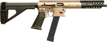 """Picture of Tnw Firearms Inc Aero Survival Pistol .40Sw 10.25"""" 31Rd W/Brace Dark Earth"""