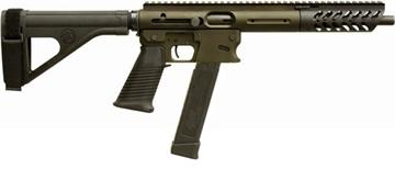"""Picture of Tnw Firearms Inc Aero Survival Pistol .40Sw 10.25"""" 31Rd W/Brace OD Green"""