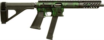 """Picture of Tnw Firearms Inc Aero Survival Pistol .40Sw 10.25"""" 31Rd W/Brace Tiger Grn"""